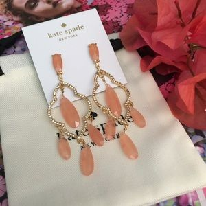 Kate Spade Lantern Quarts Chandelier Earrings